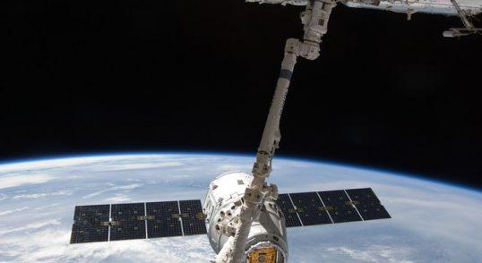 Internationella rymdstationens undersida